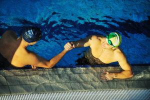 Triathlon Coaching in the Pool