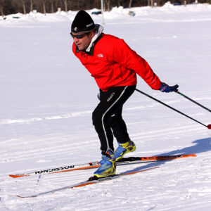 skate skiing better triathlete
