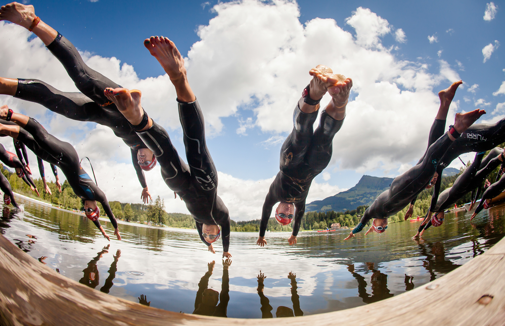 triathlon coaching business start up on the swim