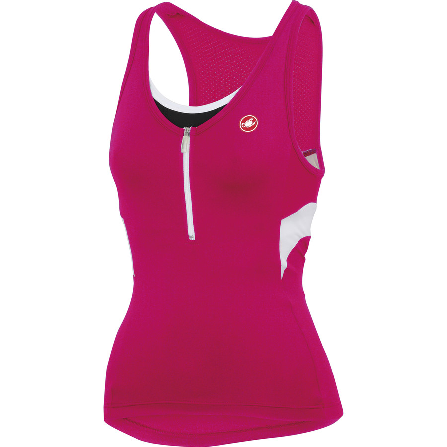 castelli sleeveless cycling jersey women