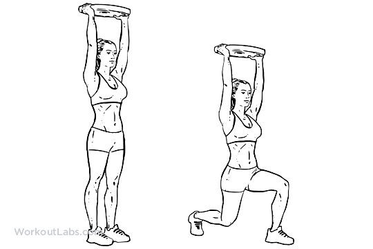 plate lunges