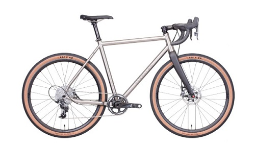 Titanium Gravel Road Plus Bike